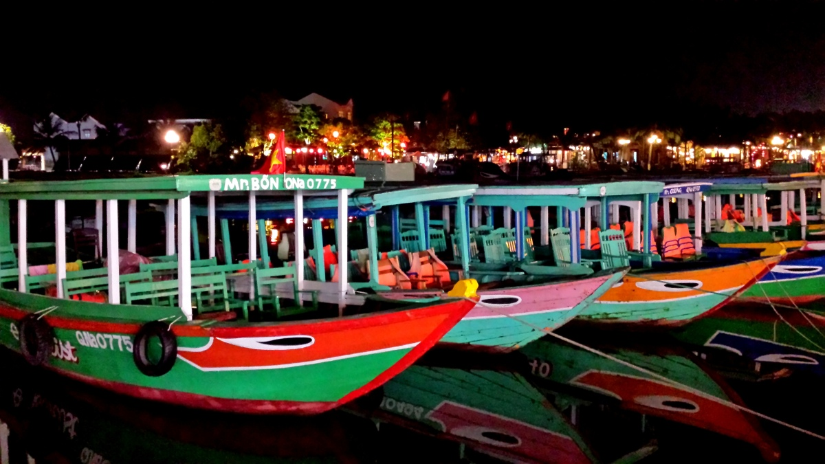 Hội An Boats at Night