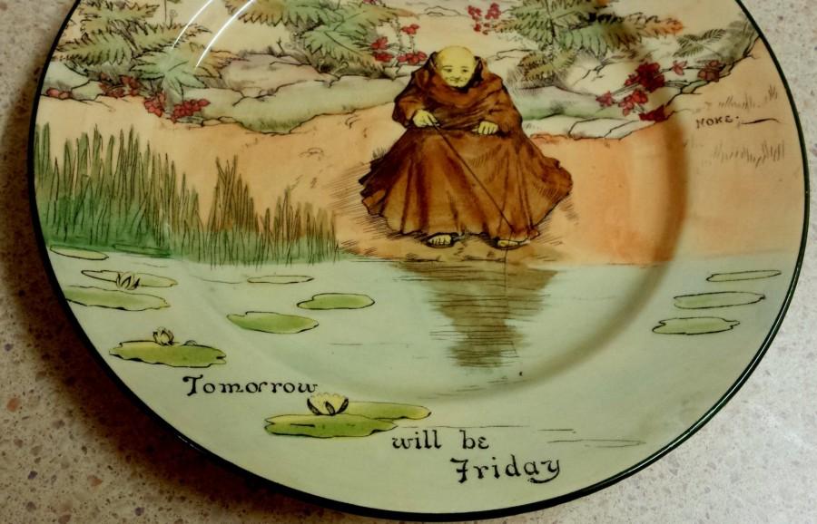 Doulton Monk Plate